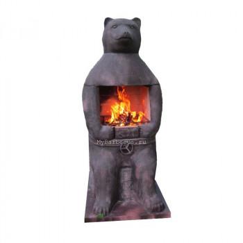 Печь барбекю №17 Медведь