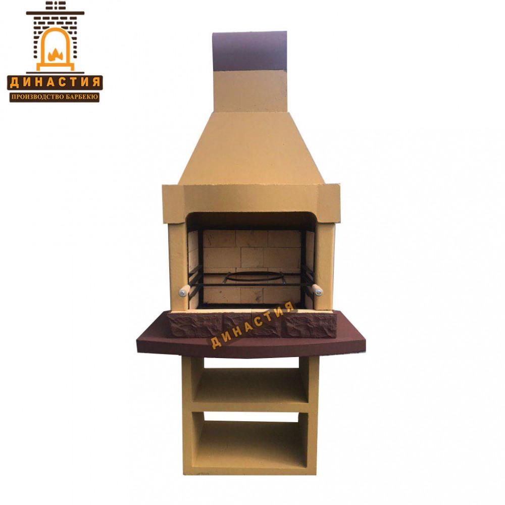 Печь барбекю №3A